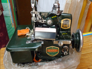 A one-time contribution of $300 will purchase this sewing machine for the textile course.