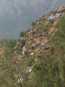 JHF Laprak landslide